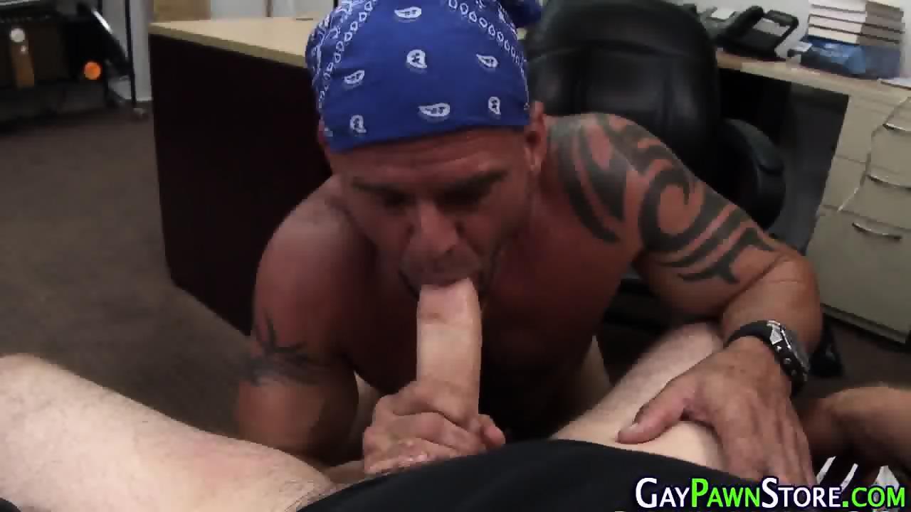 Amateur Biker Rides Dick