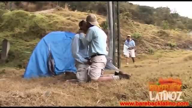 Latinos ass fucking outdoor