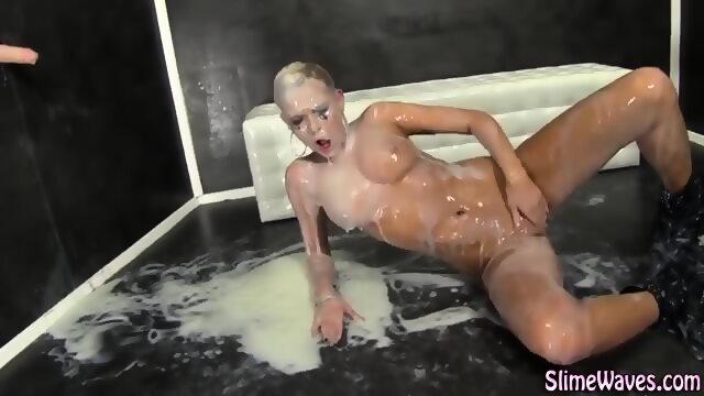 Sluts covered in cum
