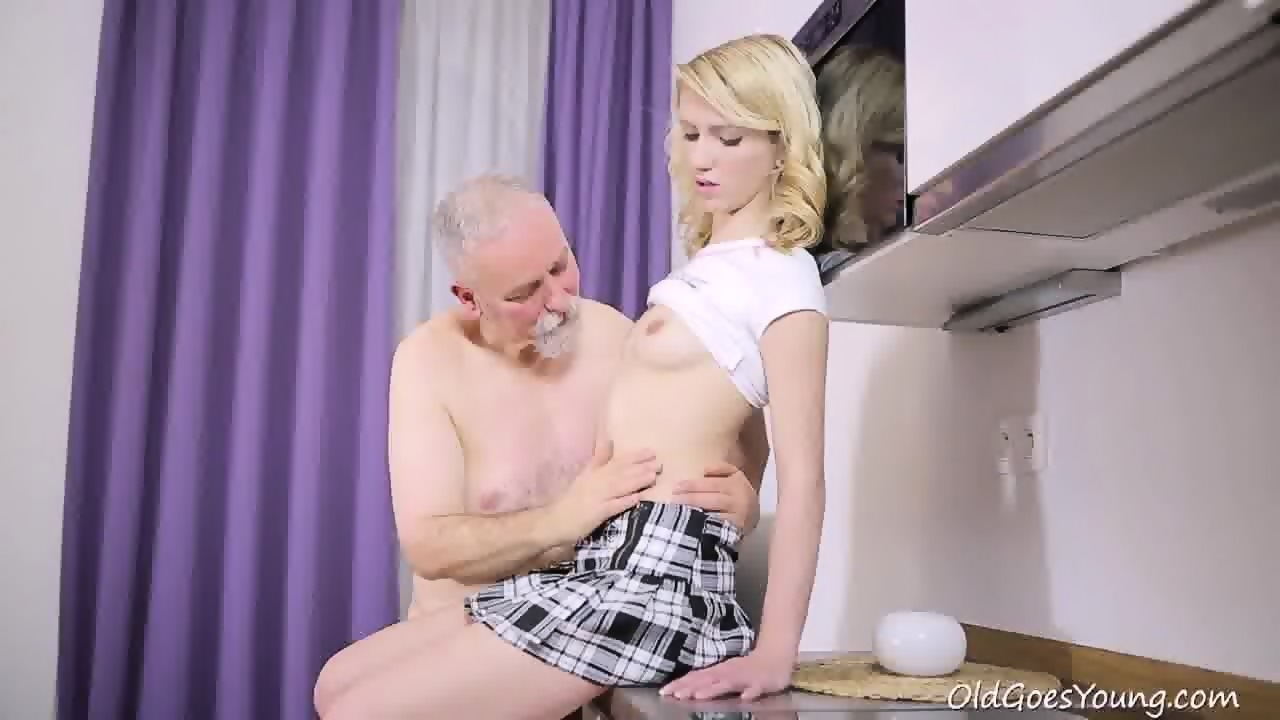 Sex with an older guy