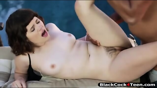 Black sex outdoors