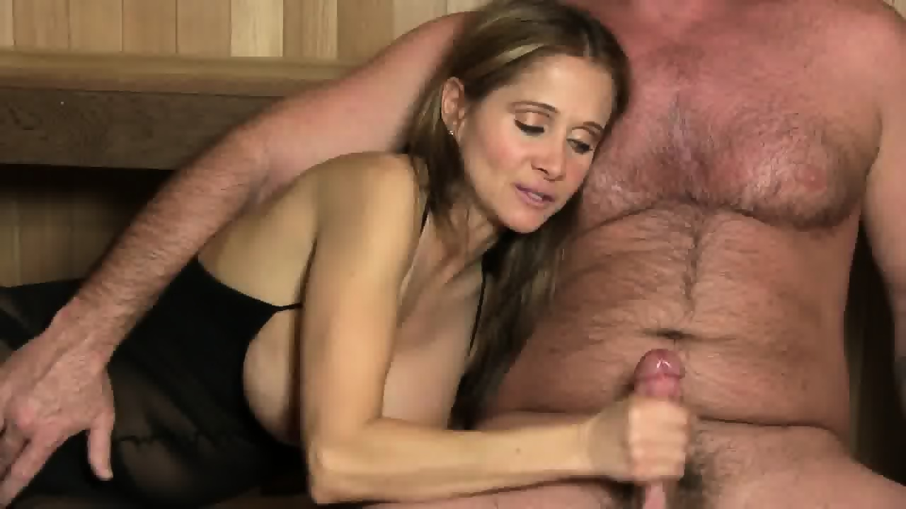 Cumshots on huge tits