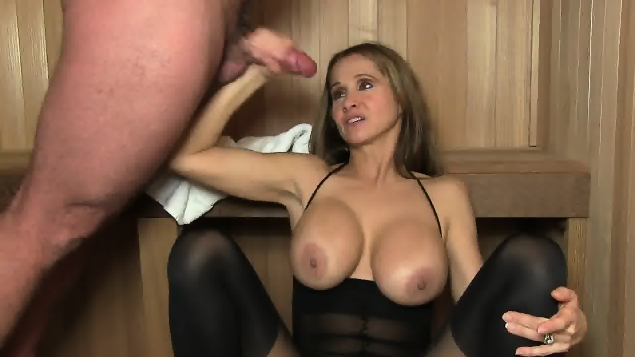 cuming cocks on moms face