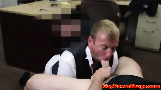 Real Straight Pawnclient Sucks Pawnbrokers