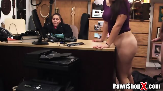 Pawn shop thief porn