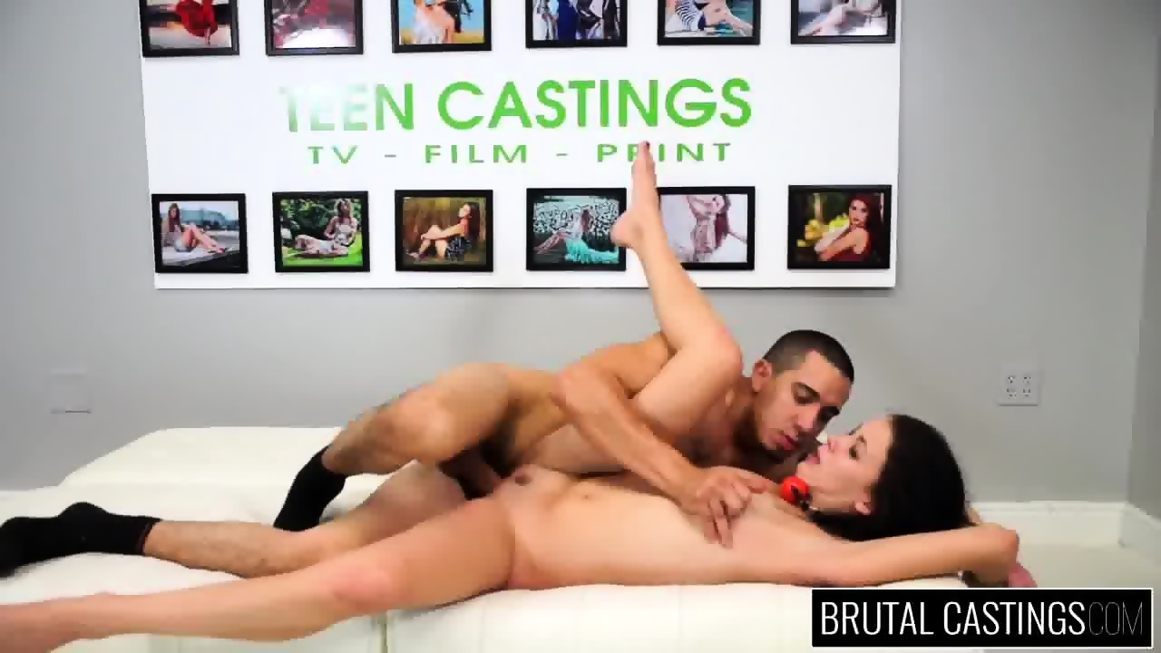 Cutie Fucked Brutally At The Casting - scene 12