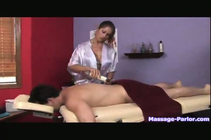 Massage Parlor Handjob Cumshot