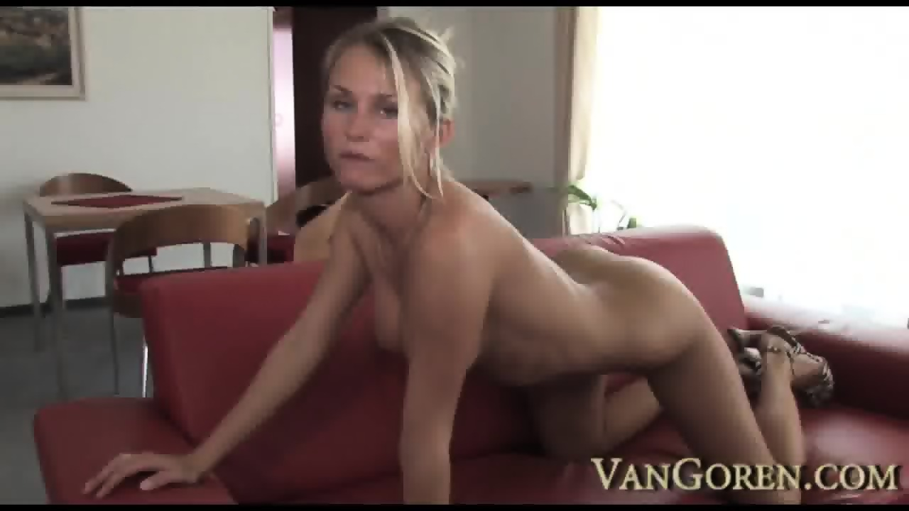 mom plays with cock tube