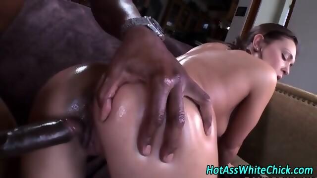 image Oiled cutie alex chance fucking her masseur