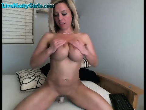 Dripping open pussy