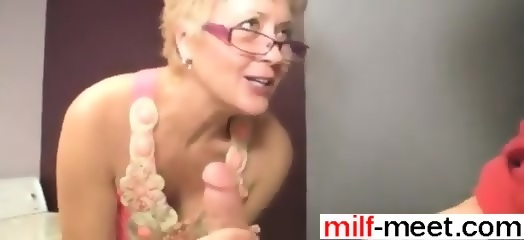 Are absolutely Grandmother sucks young cock for that
