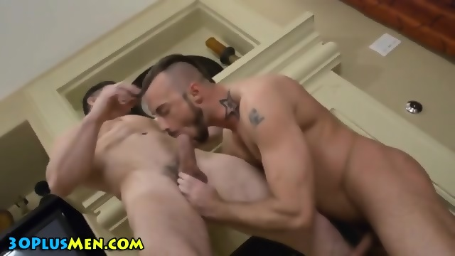 Rimmed and fucked stud