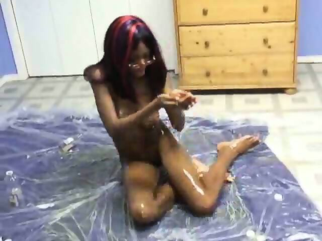 Ebony oil tube