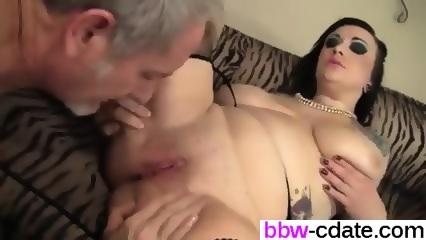 Seductive plumper scarlet lavey rides a fat cock 9