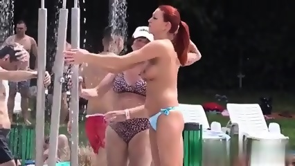 Video of topless girls, erotic fantasy workout