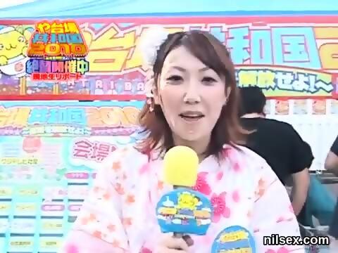 Bukkake HD party Japanese cum