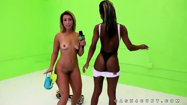 Cash Paid To Hot Chicks To Get Naked Scene 8
