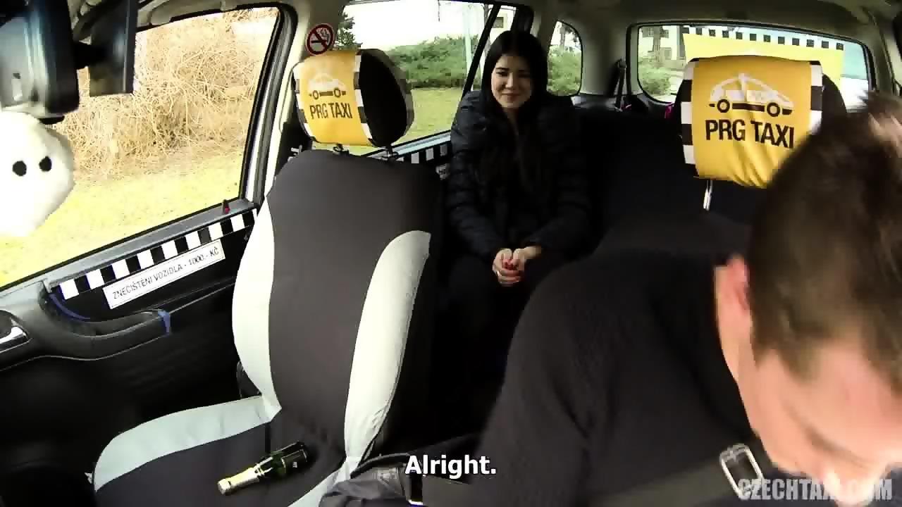 Czech Taxi Bitch