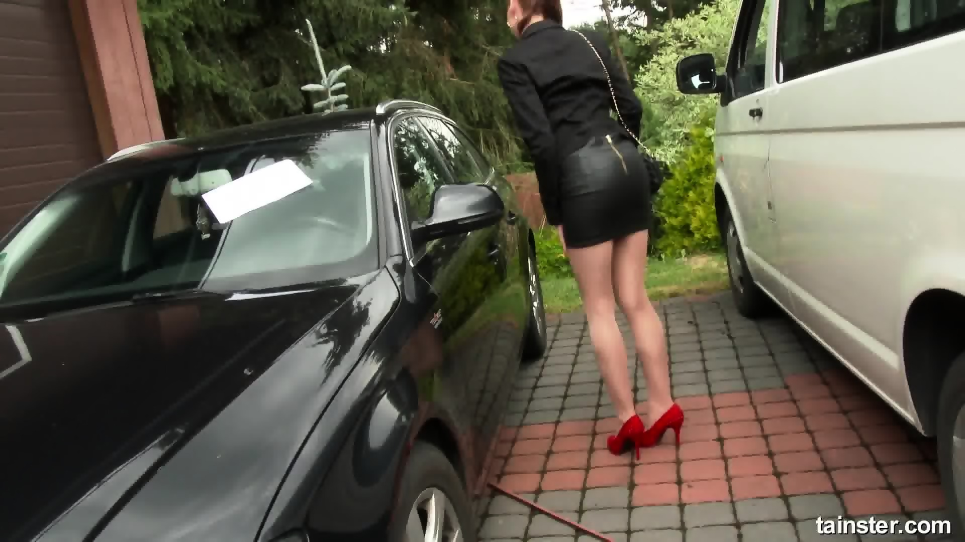 valuable busty mature milf in threeway giving hot handjob and what
