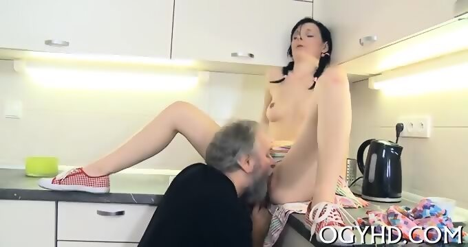 Pussy rams young mouth and schlong old opinion you