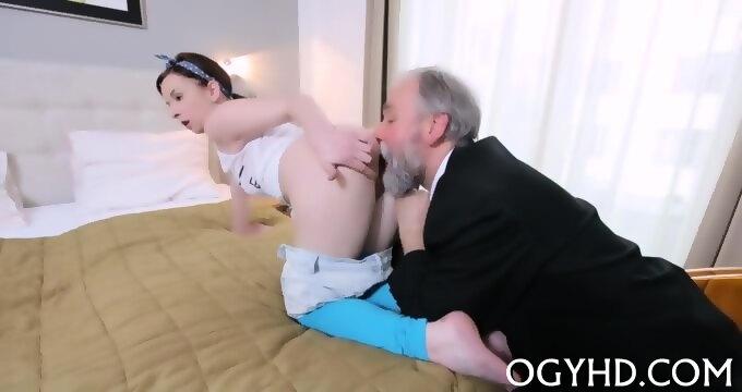 Girl fiend handjob