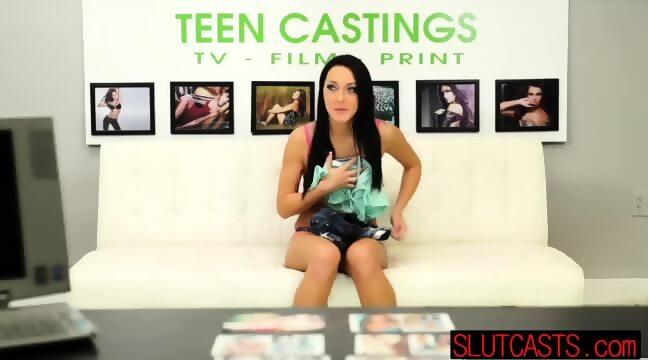 Teen Starlet Sabrina Banks In Tears During Blowjob Scene 1