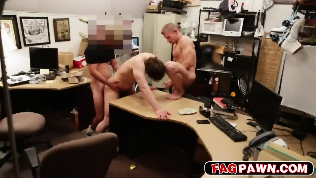 Buff Stud Fucked On His Straight Virgin Ass