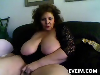 Horny old woman