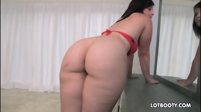 Fat ass anal