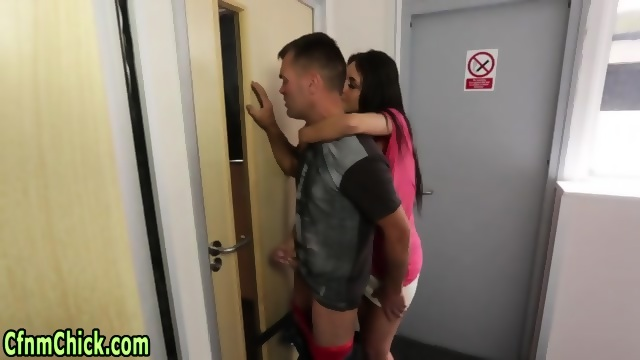 Adobable slut giving an incredible handjob Part 5 5