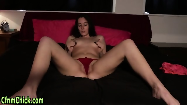 Adobable slut giving an incredible handjob 7