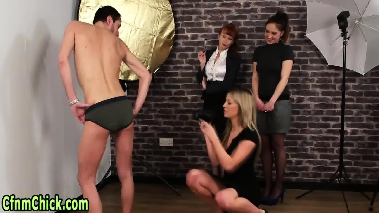 Adobable slut giving an incredible handjob 4