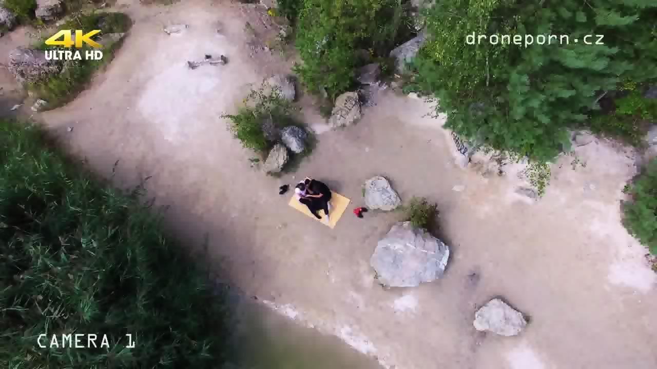 Nude Beach Sex Voyeurs Video Taken By A Drone Scene 6