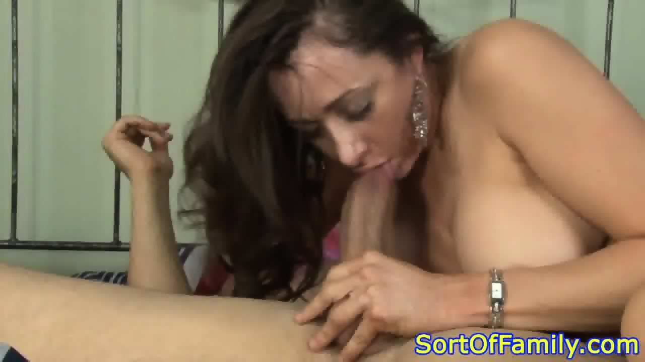 Mother in law blowjob