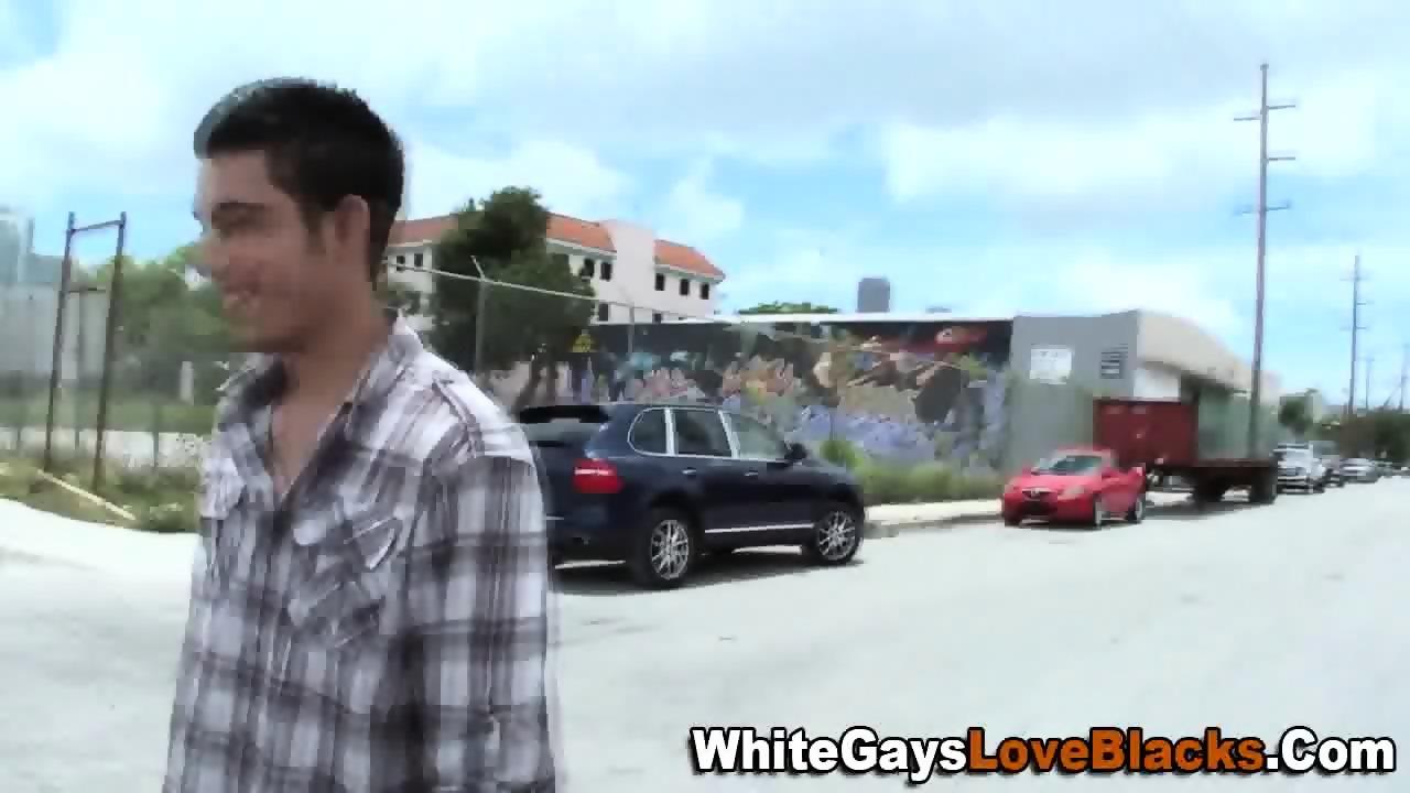 Black homie rides dick