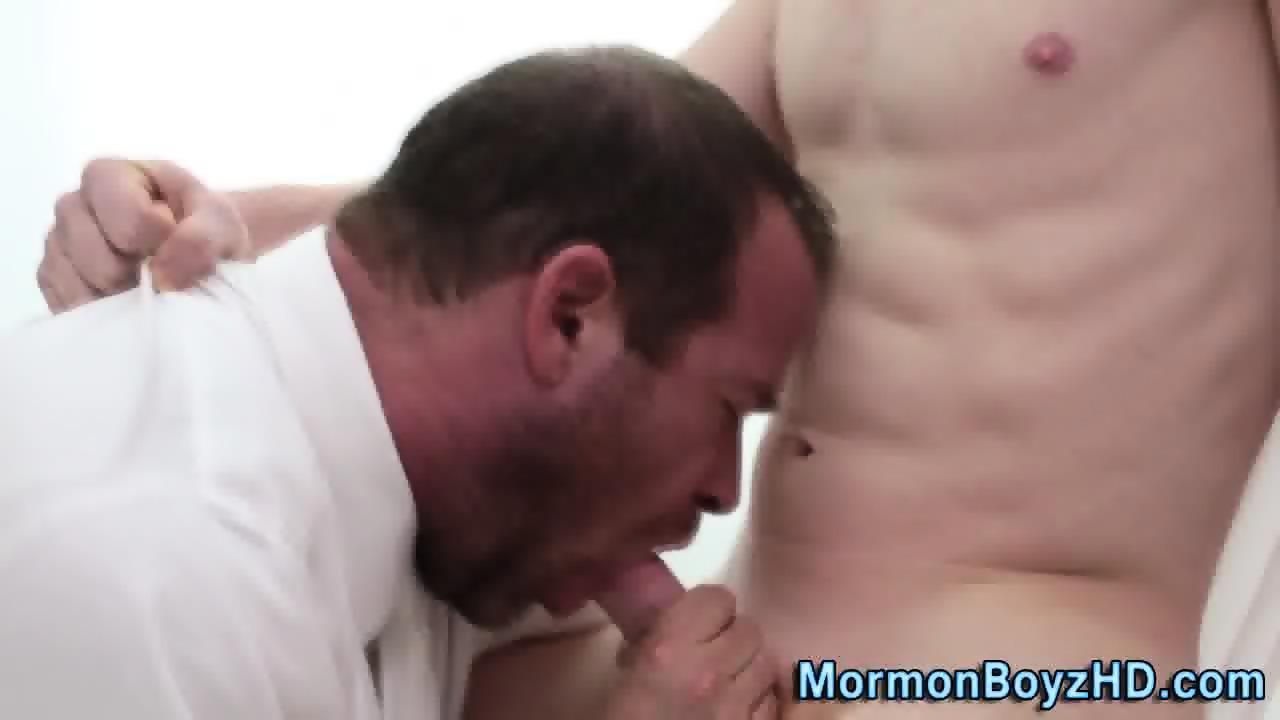 Undies mormons jerk dick