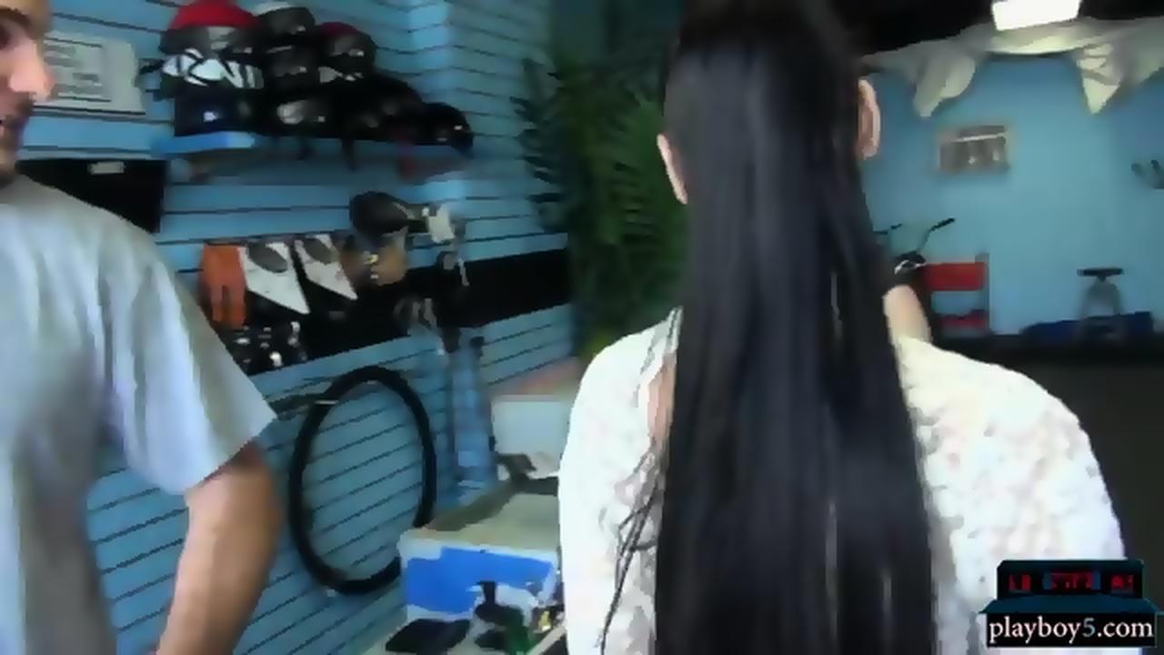 Slut wife big tits looks for job fucks for money