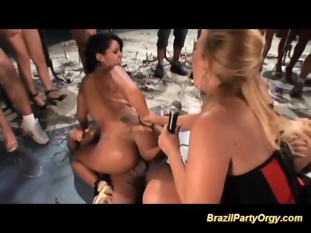 Lesbian Group Sex Party Orgy