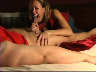 Pov bedroom blowjob love Brandi in
