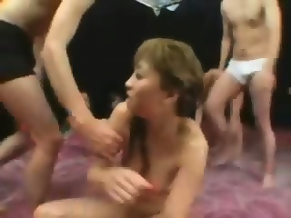 Interatial gangbang videos