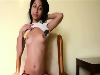 Very Hot Teen Girl With Small Boobs Scene 6